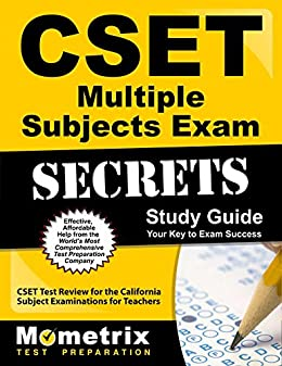 Amazon. Com: cset multiple subjects exam secrets study guide: cset.