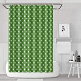 Kens Marijuana Accessories Shower Curtain Bath Curtain Liners Polyester Cloth Cool Pattern Soft