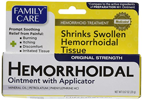 Anesthetic Hemorrhoid Ointment with Applicator 0.67 oz (Best Thing For External Hemorrhoids)