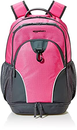 AmazonBasics Sports Backpack, Pink