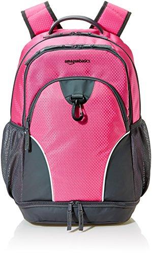 AmazonBasics Sport Laptop Backpack - Pink
