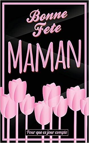 carte bonne fête maman Bonne Fete Maman: Rose   Carte (fete des meres) mini livre d'or
