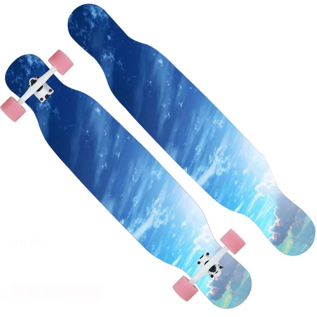 新入荷 DUWEN スケートボードプロのメープルスケートボードティーン大人の男性と女性ダンスボードブラシストリート旅行初心者スクーター (色 : B) B07NRJRRSK B07NRJRRSK B) A : A, 楽天SHOWTIME:ba2758d7 --- a0267596.xsph.ru