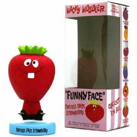 【FUNKO ファンコ】FUNNY FACEシリーズ FRECKLE FACE STRAWBERRY【ボビングヘッド】 B001EDRPCS