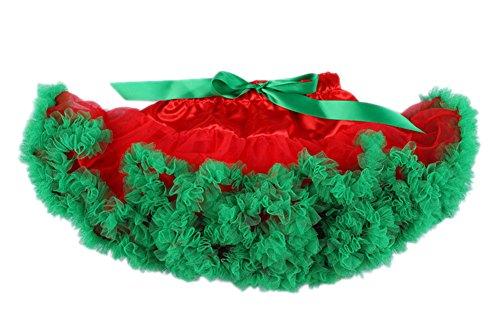 Donne Adulti Rockabilly Tutu Retro Rosso Petticoat Verde DELEY Vintage Sottogonna Gonna Fancy q45xwd