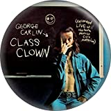 "George Carlin - Class Clown - 2.25"" Round Magnet"