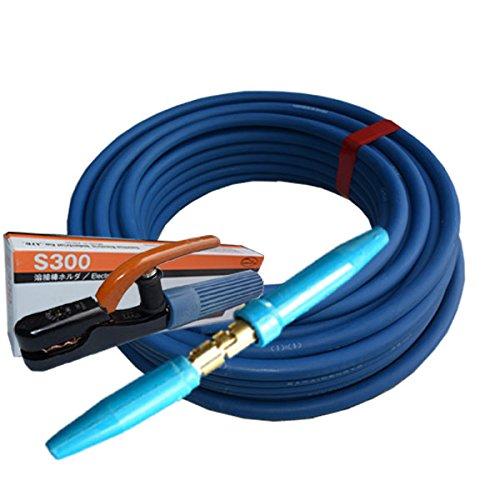 堺電業 70000-642 溶接用WCT 22SQ ホルダー線(J) 青色20m 製作セット  B01LXLA09Y