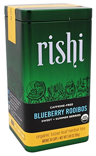 Rishi Tea Organic Blueberry Rooibos