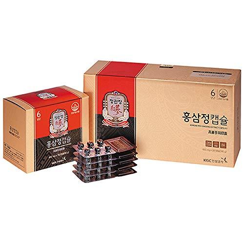 (KGC Cheong Kwan Jang Korean Red Ginseng Extract Capsules (600 mg x 300 Capsules))