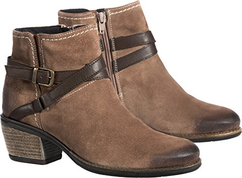 Bos. & Co. Kvinna Green Western Boot Taupe / Nougat