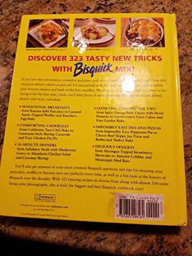 Betty Crocker Ultimate Bisquick Cookbook Exclusive Deluxe Edition 323 Delicious recipes for breakfast, dinner, dessert & more!