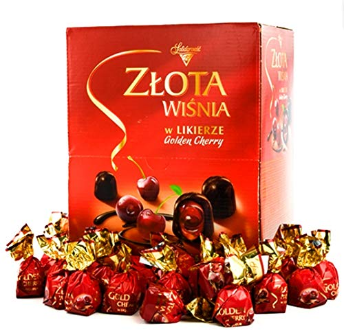 Zlota Wisnia w Likierze Golden Cherry in Liqueur