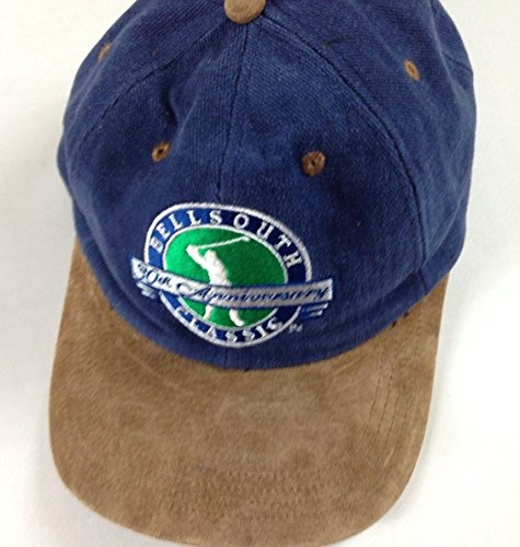 bellsouth-classic-golf-hat-vintage-strapback-90s-suede-bill-30th-anniversary-cap