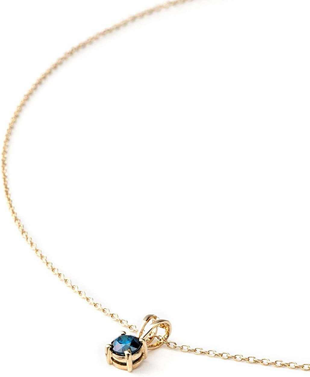 Silverstone ancé–Joyería Femenina Collar–925plata, rodio–verdadera piedras preciosas a elegir