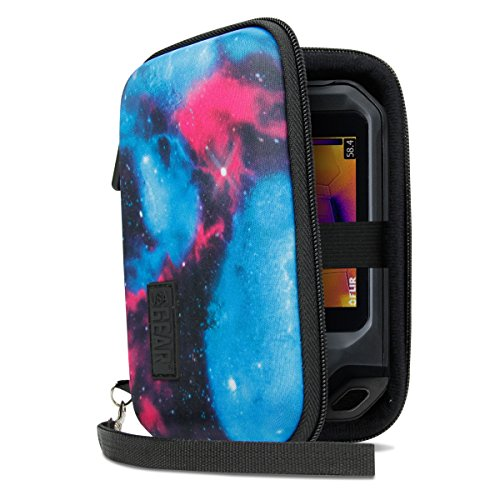 USA Gear Hard Protective Thermal Imager Carrying Case - Compatible with FLIR C2, C3, Seek Reveal, XR, PRO, Fastframe XR and More Thermal Imagers - Galaxy