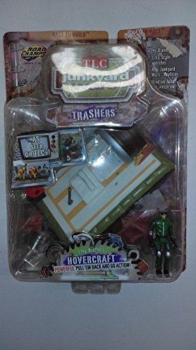 TLC Junkyard Wars Trashers Long Long Long Brothers' Hovercraft Figure by Jakks Pacific 9ec233