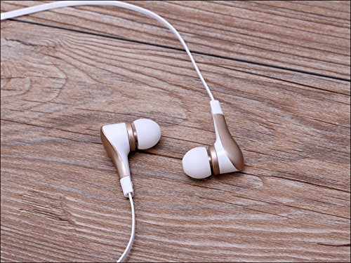 Golden manos libres Call auriculares 3.5/mm auriculares in-ear est/éreo w//Mic Apple iPhone 6