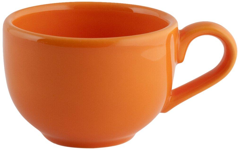 Ceramica Arancio Senza Piatto 180 CC Arancione Cromatico H/&H 4283861 Tazza Te