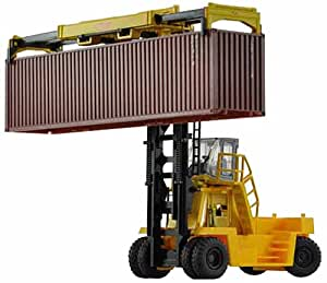 Top Loading Container Lift TCM FD430 Yellow TOMIX N scale