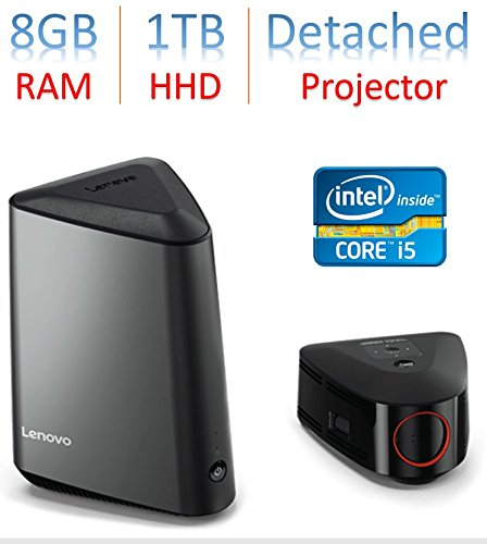 Lenovo Projector - 2018 Newest Lenovo Ideacentre 610s Mini Desktop PC with Detachable Wireless Projector Intel Core i5-6400T Quad-Core 2.2GHz 8GB DDR4 1TB HDD NVIDIA GeForce GT 750 WiFi HDMI Bluetooth, Windows 10