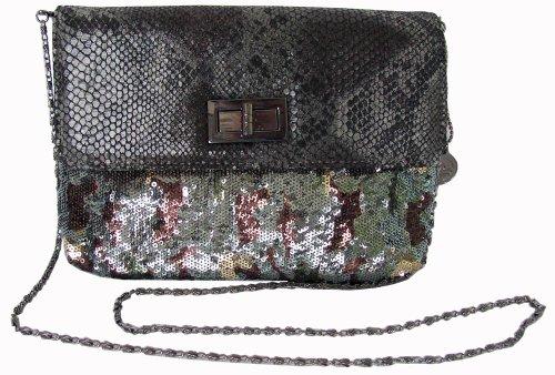 Buddha Black Handbag (Big Buddha Kuta Crossbody, Black, One Size)
