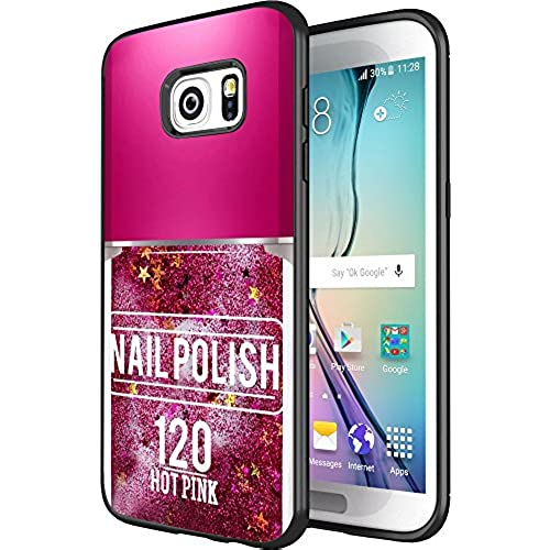 DOO UC(TM) Galaxy S7 Edge Case, Laser Technology for Protective Case for Samsung Galaxy S7 Edge Black NAIL POLISH Sales