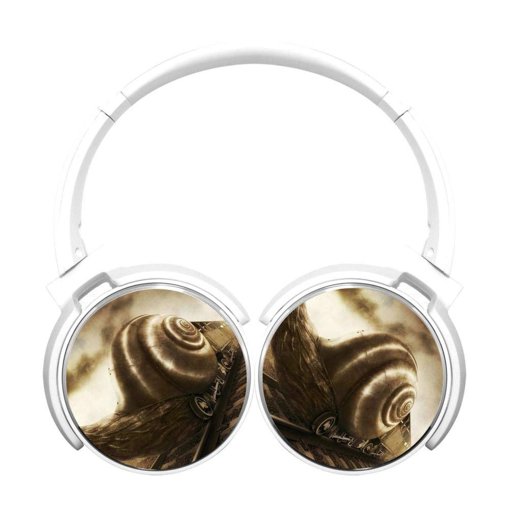 Creative Snail Hi-Fi 重低音 オーバーイヤー ワイヤレス Bluetooth ヘッドホン マイク付き 快適な低反発素材 イヤホン 120時間連続待受 テレビ コンピューター 携帯電話用 B07PHT5TS8