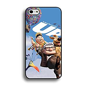 Carl And Russel Up House Hard Plastic Mobile Case with Hot Air Balloon Comic Snap on Iphone 6/6s 4.7 (Inch)