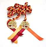 Autumn Harvest Tree of Life Wedding Hand Fasting/ Binding Cord ~ Gold Tree of Life