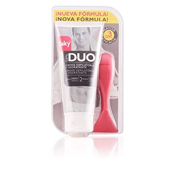 Amazon.com : Taky Man Duo Crema Depilatoria Hidratante 3 Minutos 200ml : Beauty