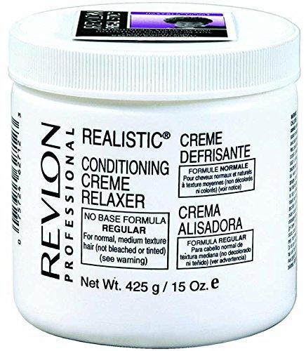 Relaxer / Glättungscreme Revlon Professional Realistic No Base Conditioning Creme Relaxer