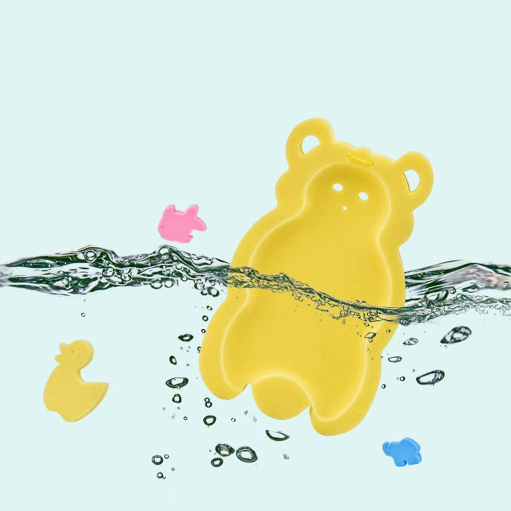 FATTERYU Baby Anti-Rutsch-Badeschwamm Kissen Nachahmung Cartoon Infant Badewanne Bade Pad