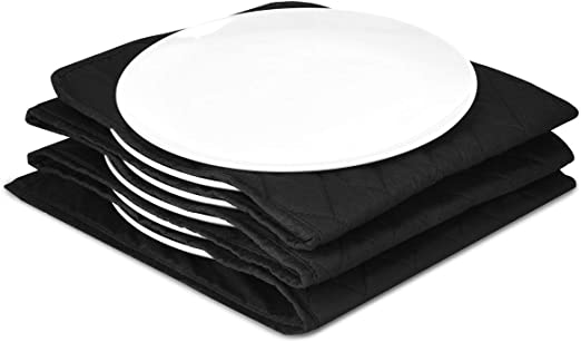 Warms up to 12 Full Size Dinner Plates Removable and Washable Cotton Sleeves Double Insulated with Humidity Protection Black Tower T19015 Electric Plate Warmer Cool Touch