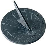 Esschert Design USA LS002 Round Slate Sundial