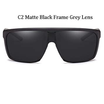 Kjwsbb Gafas de Sol de Gran tamaño para Hombres Gafas de Sol ...