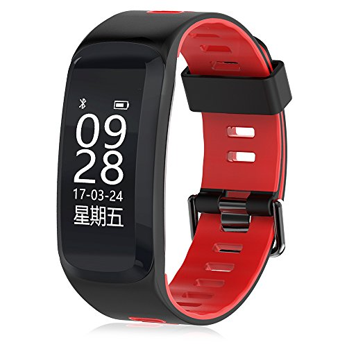 Price comparison product image no!no! NO.1 F4 Heart Rate Smartband,  Heart Rate Monitor,  Pedometer,  IP68 Waterproof Sedentary Reminder Remote Camera