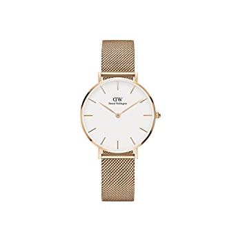 919feeda0110 Image Unavailable. Image not available for. Color  Daniel Wellington  Classic Petite Melrose in Rosegold 32mm