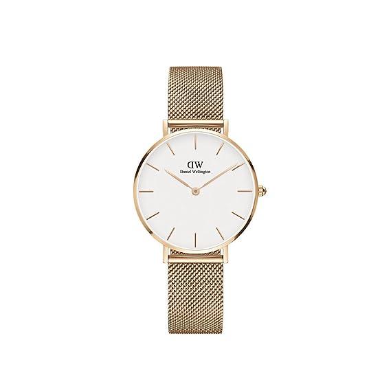518893e1421dca Daniel Wellington Women's DW00100163 Classic Petite Analog Display Japanese  Quartz Rose Gold Watch: Amazon.ca: Watches