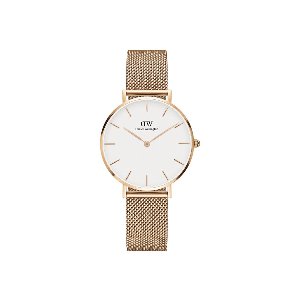 Daniel Wellington Classic Petite Melrose in White 32mm