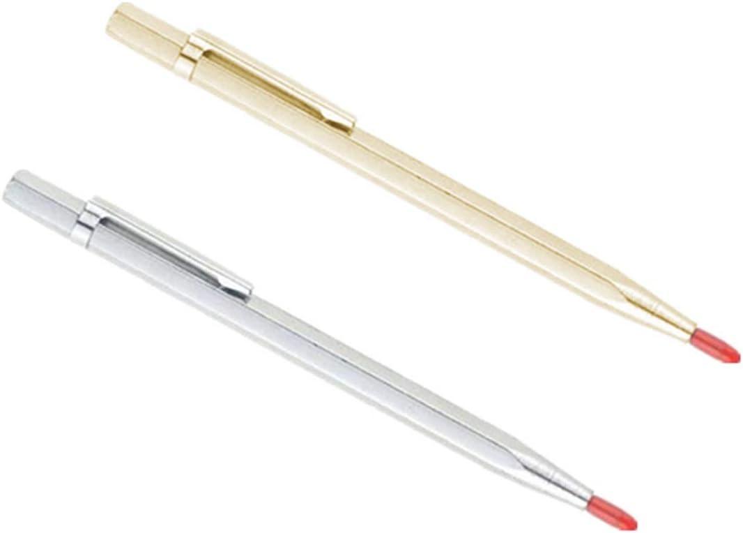 Carbide Steel Tip Scribe Etching Pen Carve Jewelry Engraver Metal Tool Engrave