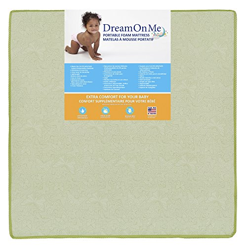 Dream On Me Totbloc Play Yard Mattress by Dream On Me