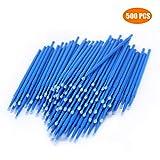 500 PCS Disposable Micro Applicators Brush for