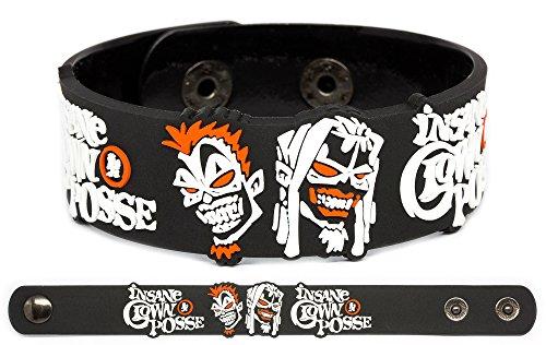 INSANE CLOWN POSSE Rubber Bracelet Wristband The Diabolical Karma Twins