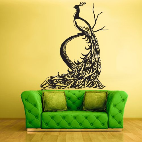 Amazon.com: Wall Vinyl Sticker Decals Decor Art Bedroom Design Mural Peacock  Bird (Z451): Home U0026 Kitchen Part 72