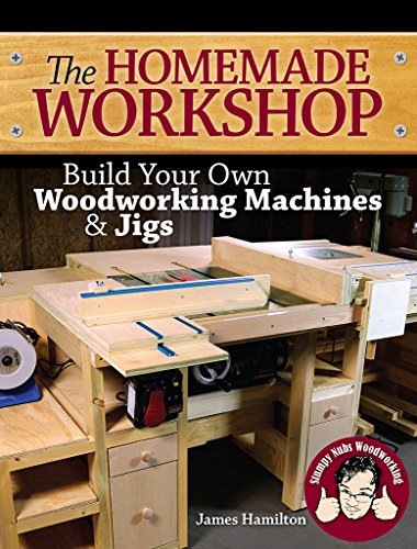 The Homemade Workshop: Build Your Own Woodworking Machines and Jigs by [Hamilton, James, Stumpy, Nubs]