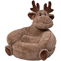 Trend Lab Children's Plush Chair, Moose