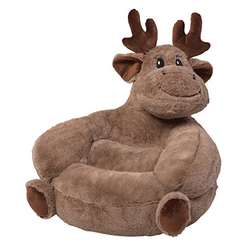 Navy Infant Teddy Bear - Trend Lab Children's Plush Moose Character Chair