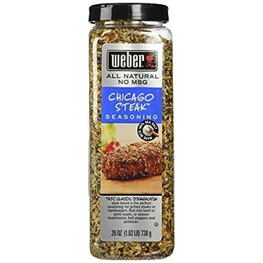 Weber Chicago Steak Seasoning 26 Oz