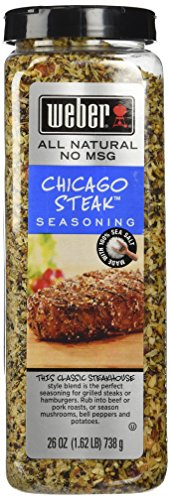 WEBER CHICAGO STEAK SEASONING 26