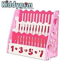 Kiddygem ready to read children book shelf/book case/book display (Pink)